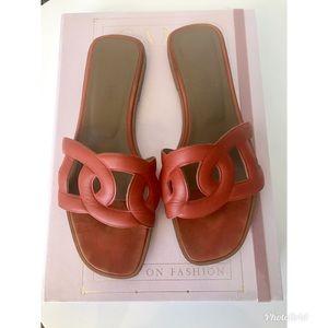 Hermès Omaha sandals size 37